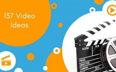 137 Video Ideas For All Stages of Your Marketing Lifecycle